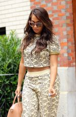 LA LA ANTHONY Out and About in Manhattan 09/01/2016