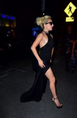 LADY GAGA Night Out in New York 09/15/2016