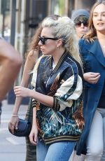 LADY GAGA Leaves Electric Lady Recording Studio in New York 09/15/2016