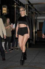 LADY GAGA Leaves Her New York Apartment 09/13/2016