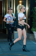 LADY GAGA Leaving Her Apartment in New York 09/12/2016