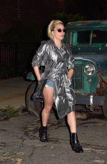 LADY GAGA Night Out in New York 09/19/2016
