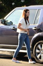 LANA DEL REY Leaves a Lunch in West Hollywood 09/06/2016