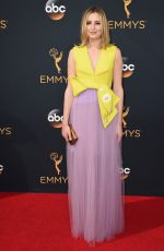 LAURA CARMICHAEL at 68th Annual Primetime Emmy Awards in Los Angeles 09/18/2016