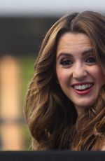 LAURA MARANO on the Set of Extra in Los Angeles 09/07/2016