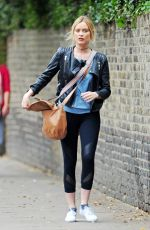 LAURA WHITMORE Arrives at Strictly Come Dancing Rehersal in Londonn 09/06/2016