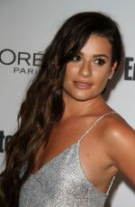 LEA MICHELE at Entertainment Weekly 2016 Pre-emmy Party in Los Angeles 09/16/2016
