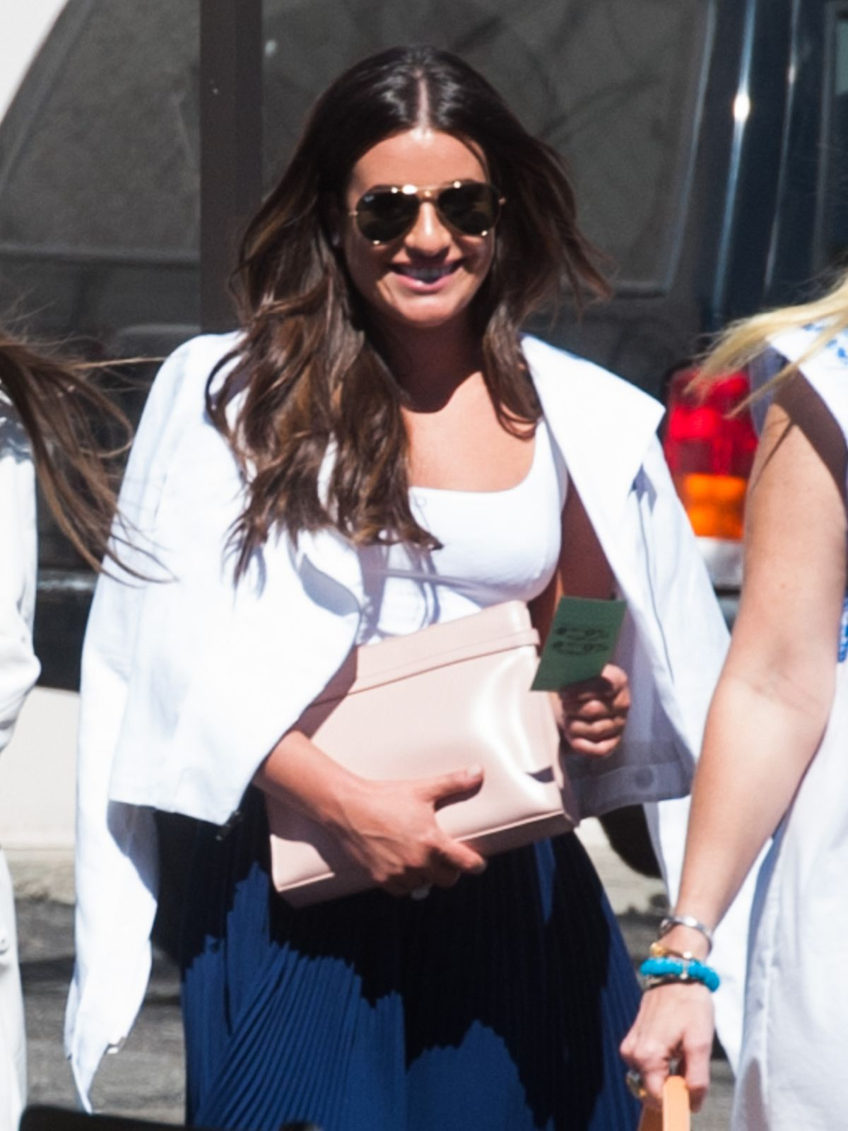 LEA MICHELE Out and About in Los Angeles 09/11/2016