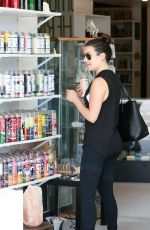 LEA MICHELE Out Shopping in Los Angeles 09/20/2016