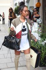 LEIGH-ANNE PINNOCK at Aspinal of London Presentation at London Fashion Week 09/19/2016
