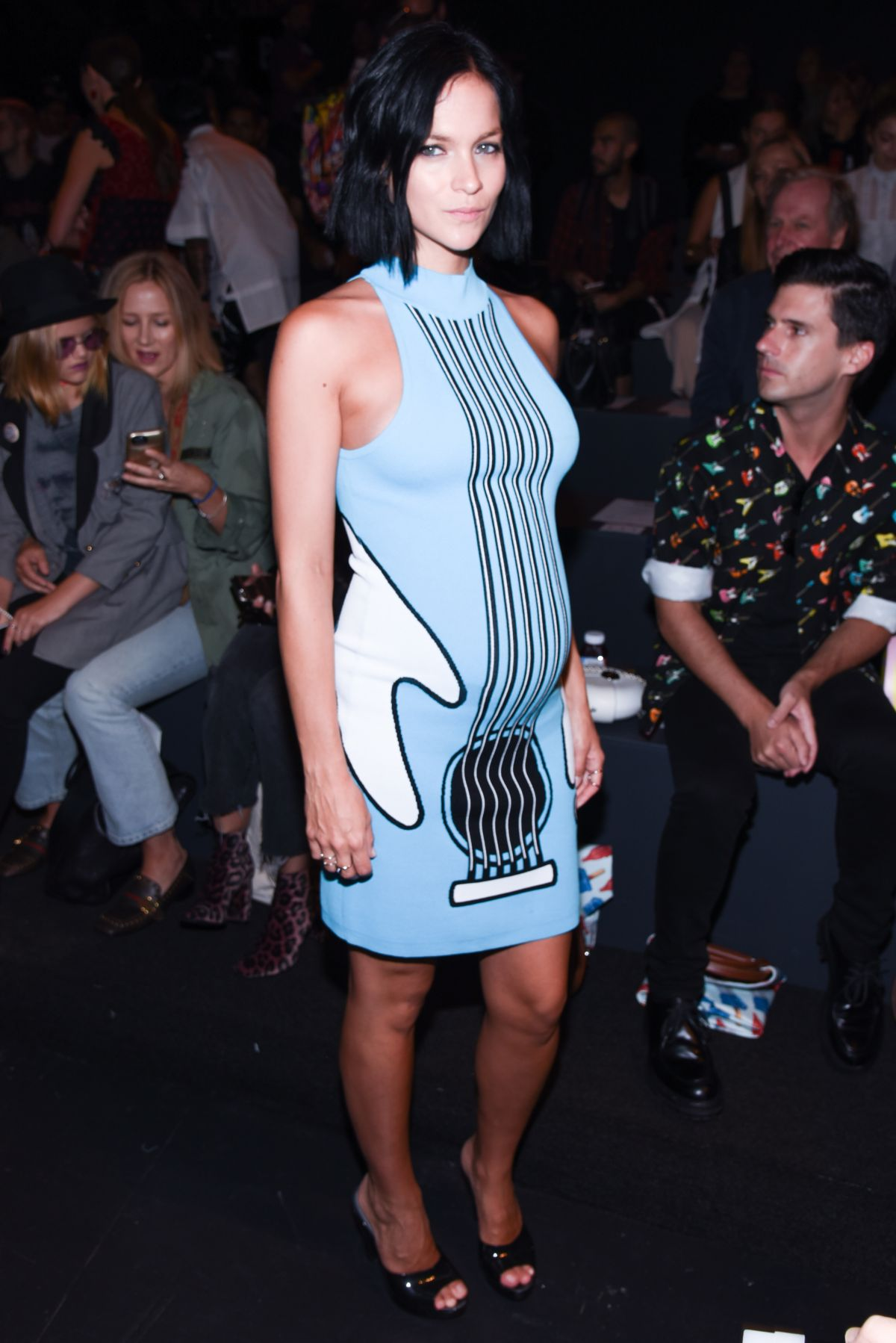 LEIGH LEZARK at Jeremy Scott Fashion Show at New York Fashion Week 09/12/2016