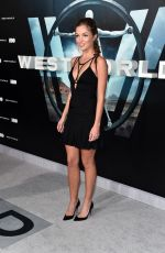 LILI SIMMONS at 'Westworld' Premiere in Hollywood 09/28/2016