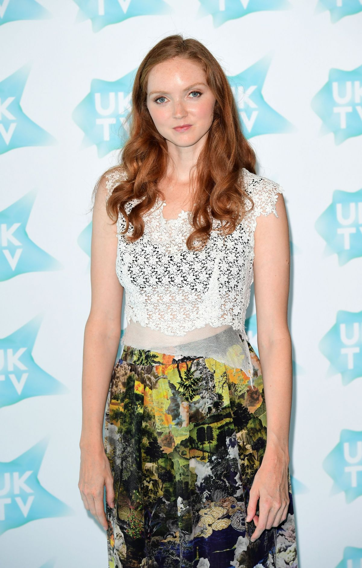 LILY COLE at UKTV Live New Season Launch in London 09/05/2016