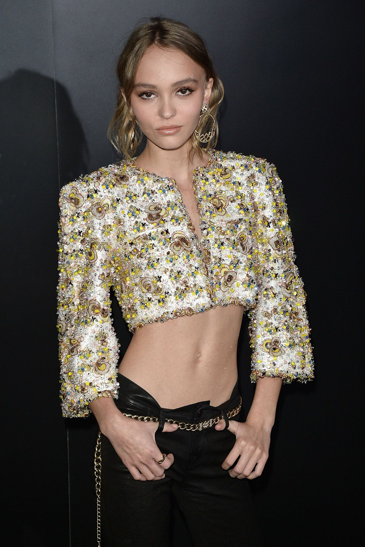 LILY-ROSE DEPP at Chanel Celebrates Launch of No.5 L'Eau in Los Angeles 09/22/2016