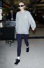 LILY-ROSE DEPP at LAX Airport in Los Angeles 09/19/2016