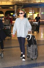 LILY-ROSE DEPP at Los Angeles International Airport 09/20/2016