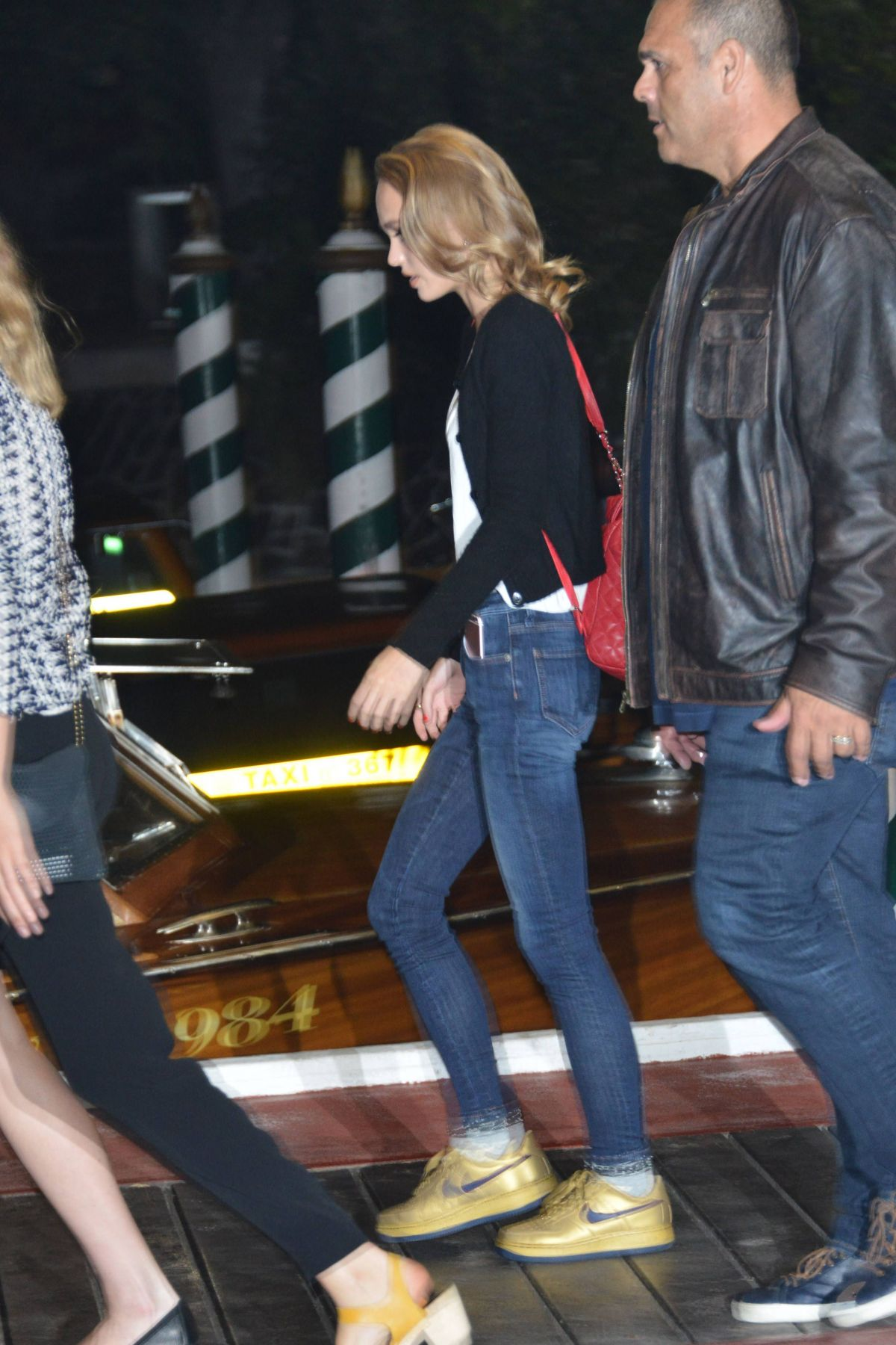 LILY-ROSE DEPP Night Out in Venice 09/08/2016