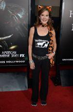 LINDA BLAIR at Halloween Horror Nights Opening in Universal City 09/16/2016