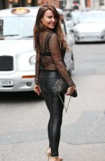 LIZZIE CUNDY Out and About in London 09/19/2016