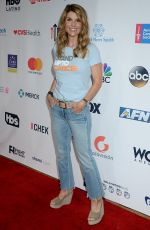 LORI LOUGHLIN at 5th Biennial Stand Up To Cancer in Los Angeles 09/09/2016