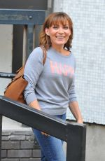 LORRAINE KELLY Leaves ITV Studios in London 09/15/2016