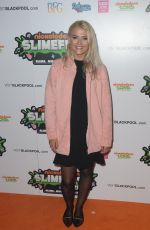 LUCY FALLON at First UK Nickelodeon Slimefest in Blackpool 09/03/2016