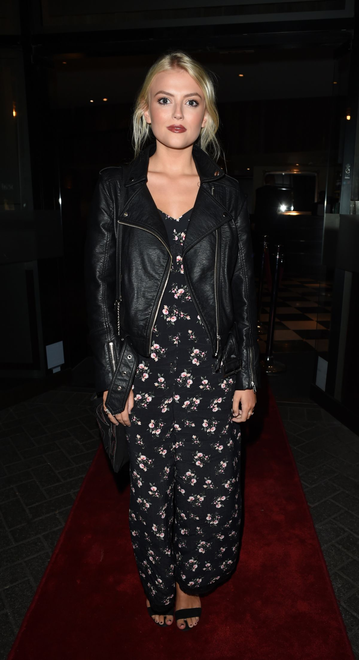 LUCY FALLON at Mal Maison Events Rooms Launch Party in Manchester 09/22/2016