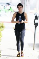 LUCY HALE Arrives at a Gym in Los Angeles 09/27/2016