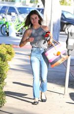 LUCY HALE Out and About in West Hollywood 09/28/2016
