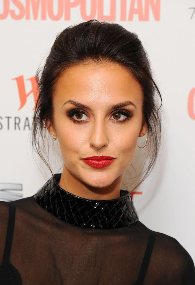 LUCY WATSON at Cosmopolitan #fashfest 2016 VIP Show and Party in London 09/15/2016
