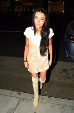 MADISON BEER Arrives at Mr. Chows in Los Angeles 09/25/2016