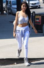 MADISON BEER Out and About in Los Angeles 09/21/2016