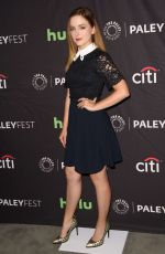 MADISON DAVENPORT at Paleyfest 2016 Fall TV Preview for CBS in Beverly Hills 09/12/2016