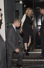 MADONNA Out and About in London 09/16/2016