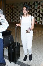 MAISISE WILLIAMS at LAX Airport in Los Angeles 09/17/2016