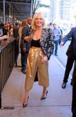 MALIN AKERMAN at Marc Jacobs Fashion Show in New York 09/15/2016