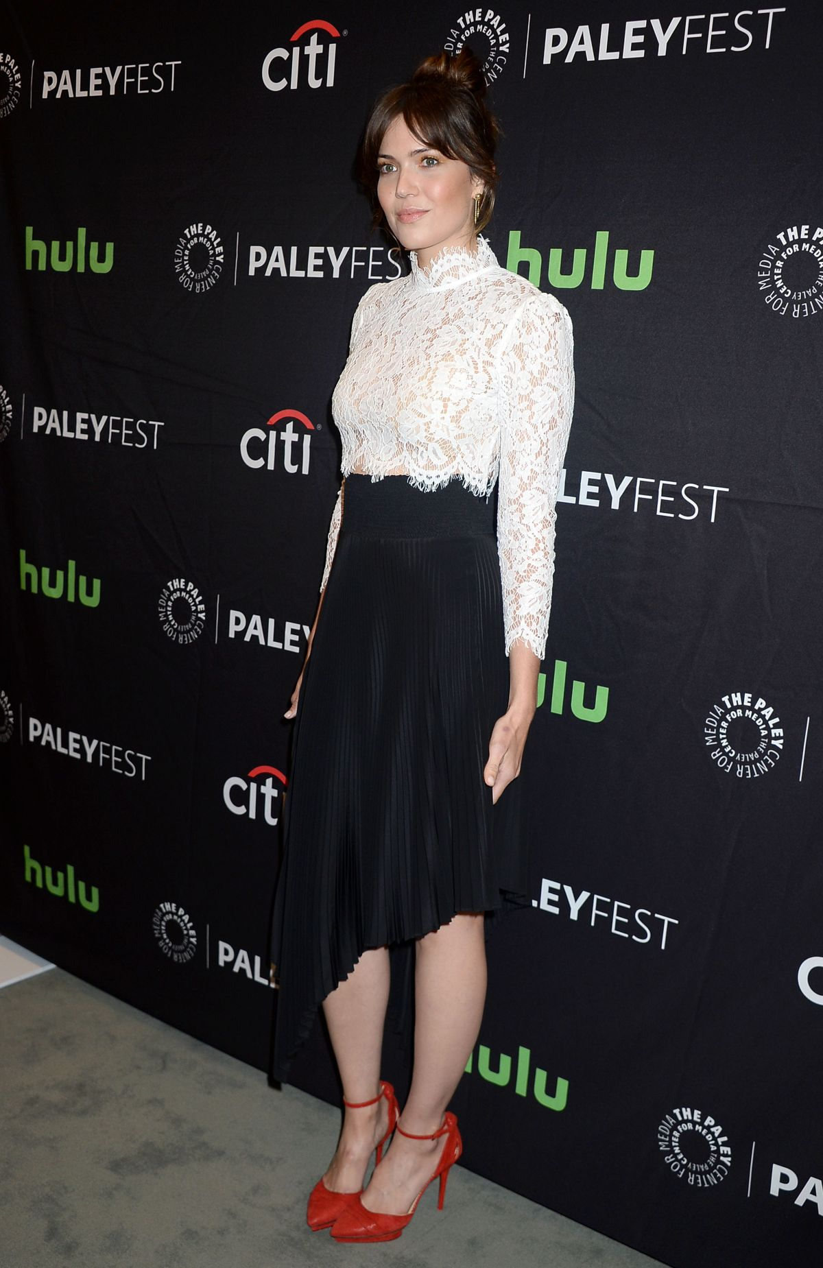 mandy moore at paleyfest 2016 fall tv preview for nbc in