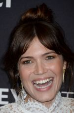 MANDY MOORE at Paleyfest 2016 Fall TV Preview for NBC in Beverly Hills 09/13/2016