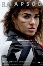 MANDY MOORE in Rhapsody Magazine, September 2016 Issue