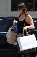 MANDY MOORE Out Shopping in Beverly Hills 09/02/2016