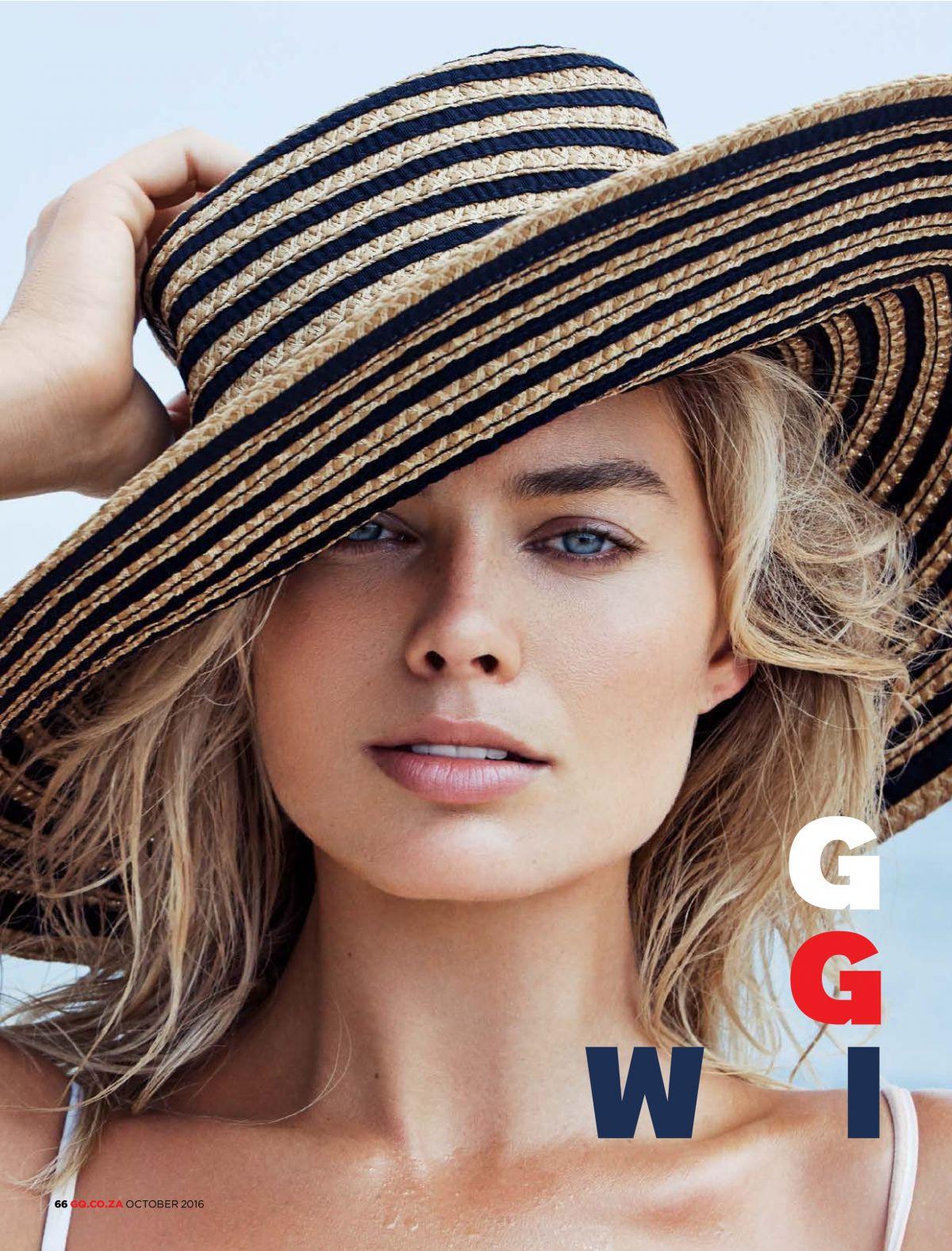 MARGOT ROBBIE in GQ Magazine, South Africa October 2016 Issue