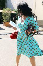 MARIA CONCHITA ALONSO Leaves a Salon in Los Angeles 09/24/2016
