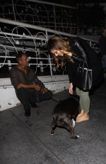 MARIA MENOUNOS Leaves Madeo Restaurant in West Hollywood 09/14/2016