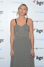 MARIA SHARAPOVA at Annual Charity Day Hosted by Cantor Fitzgerald, BGC and GFI in New York 09/12/2016