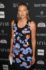 MARIA SHARAPOVA at Harper's Bazaar Celebrates Icons by Carine Roitfeld in New York 09/09/2016