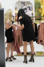 MARNIE SIMPSON Shopping at House of CB in London 09/03/2016