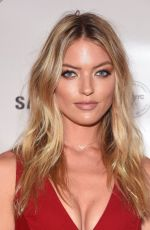 MARTHA HUNT at Charlotte Tilbury x Samsung in New York 09/10/2016