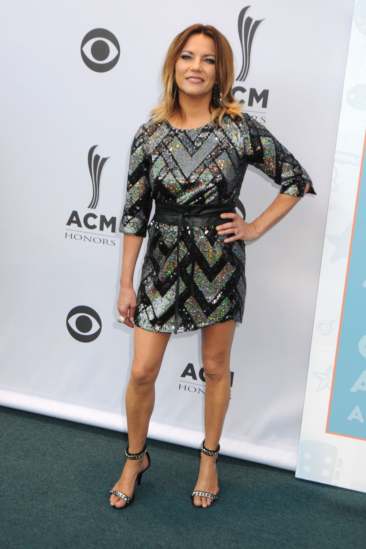 MARTINA MCBRIDE at 10th Annual ACM Honors at in Nashville 08/30/2016