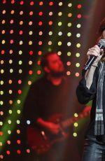 MARTINA MCBRIDE Performs at Band Against Cancer Tour 09/16/2016