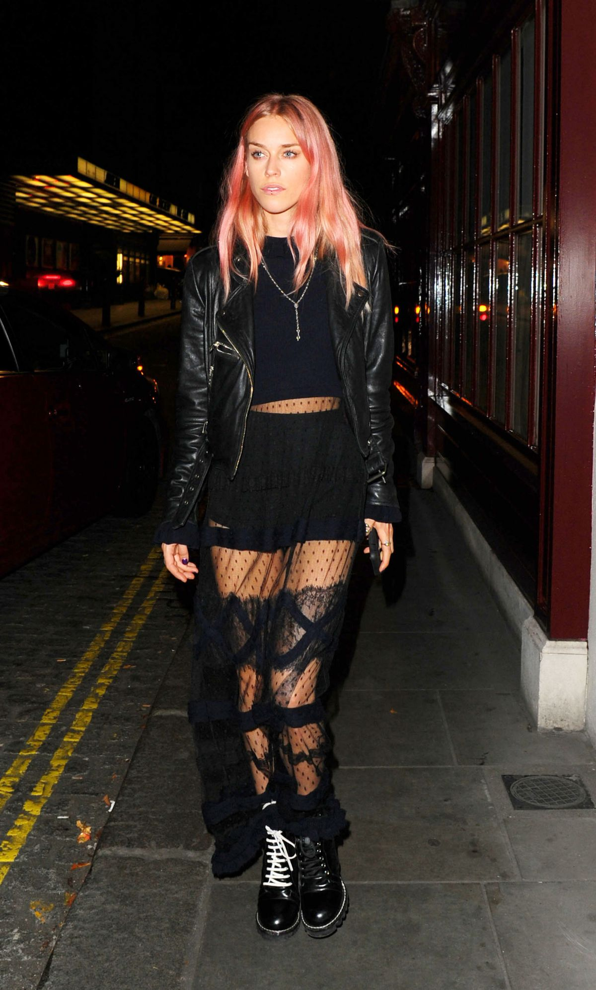 MARY OLIVIA CHARTERIS at Lou Lou